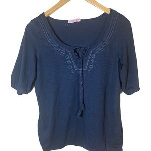 BOGO 50% off Ardene t-shirt with embroidery